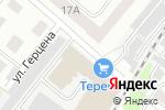 Схема проезда до компании 220 вольт в Тамбове