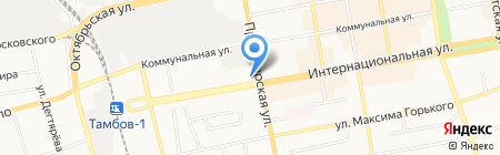 Татьяна на карте Тамбова