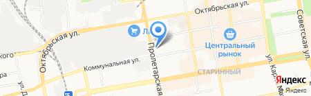 АЗС ТНТ-Премиум на карте Тамбова