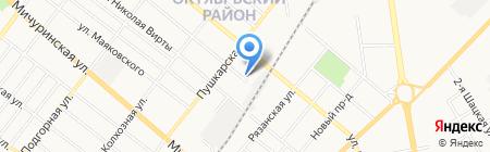 ЖСК №9 на карте Тамбова