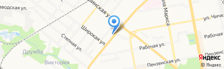 Единая служба по установке приборов учета на карте Тамбова