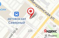Схема проезда до компании Строймонтажсервис в Тамбове