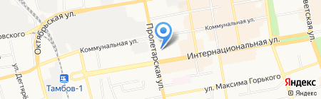 Советский районный суд г. Тамбова на карте Тамбова