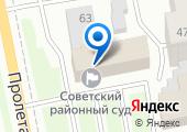 Мировые судьи Ленинского района г. Тамбова на карте