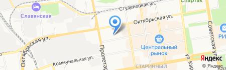 Print Time на карте Тамбова