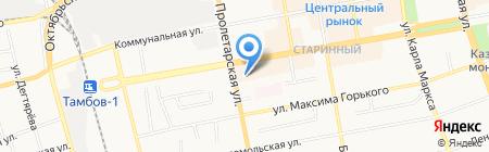 Сибирское здоровье на карте Тамбова