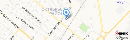 Педагогический колледж г. Тамбова на карте Тамбова