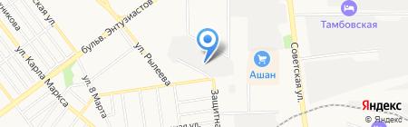 Европласт-Т на карте Тамбова
