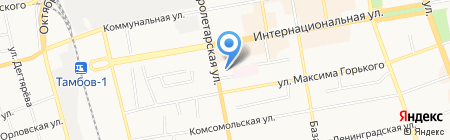 Электрон-1 на карте Тамбова