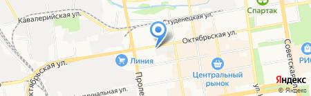 Киоск по продаже кондитерских изделий на карте Тамбова