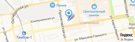 ПРОКМА-ТЕЛЕКОМ на карте Тамбова