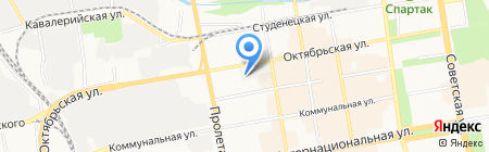 Такф на карте Тамбова