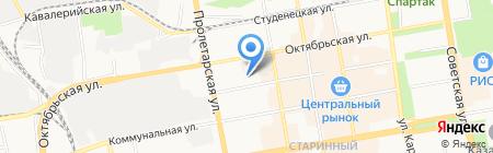 Костоправ на карте Тамбова