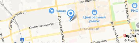 Русфинанс Банк на карте Тамбова