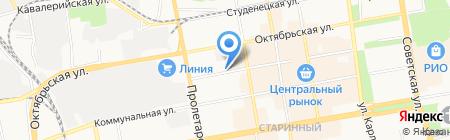 Магазин строительных товаров на карте Тамбова