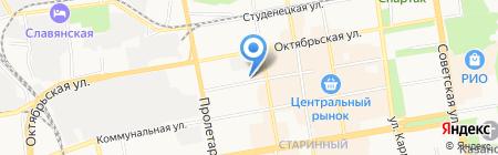 Магазин сантехнического оборудования на карте Тамбова
