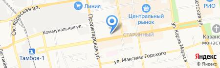 Матрёшки style на карте Тамбова