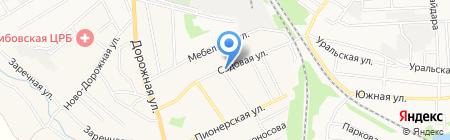 Диана на карте Тамбова