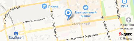 ПЕРВЫЙ МЕДИЦИНСКИЙ ЦЕНТР на карте Тамбова