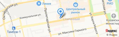 Le parfum на карте Тамбова