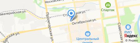 Инженерная сантехника на карте Тамбова