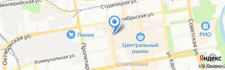 Ян на карте Тамбова