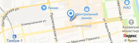 Katarina на карте Тамбова