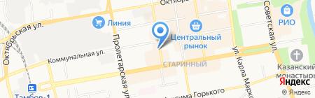 Тамбов-Адвокат на карте Тамбова