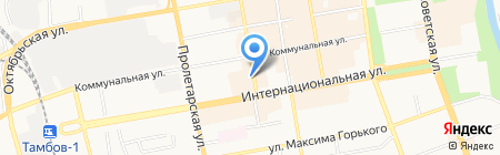 Винтаж на карте Тамбова