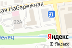 Схема проезда до компании Волк в Тамбове