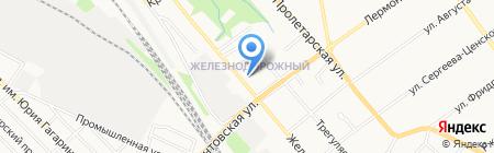 Максимовский на карте Тамбова