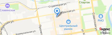 Магазин спортивной обуви на карте Тамбова