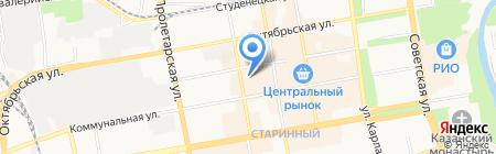 Ветеринарный пункт на карте Тамбова