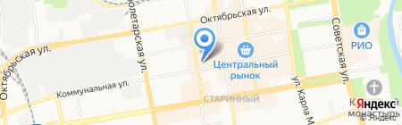 Defile на карте Тамбова