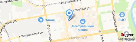 Магазин люстр на карте Тамбова