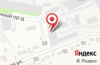 Схема проезда до компании Профи-Сервис в Тамбове