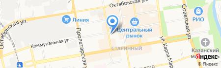 Хозтовары на карте Тамбова