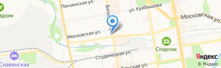 Магазин канцтоваров на карте Тамбова