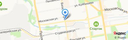 Секонд-хенд на Базарной на карте Тамбова