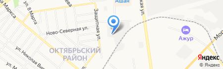 ТВЭСТ на карте Тамбова