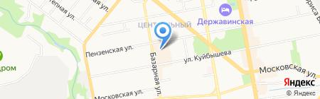 Банкомат АКБ МОСОБЛБАНК на карте Тамбова