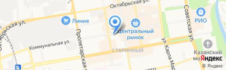 Экономь-ка на карте Тамбова