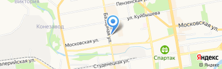 У дома на карте Тамбова
