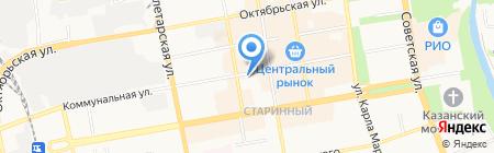 Ломбард БИЛС на карте Тамбова