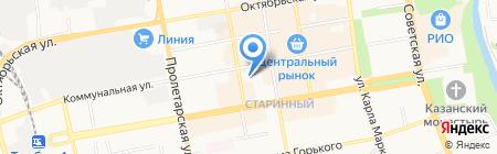 Отдел вневедомственной охраны г. Тамбова на карте Тамбова