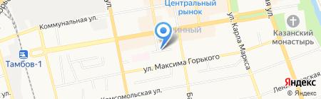 Детский сад №59 Ягодка на карте Тамбова