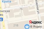 Схема проезда до компании Пирожникофф в Тамбове