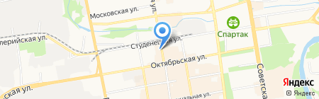 Липецк книппинг на карте Тамбова