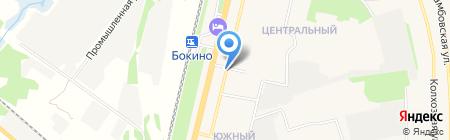 Ксения на карте Строителя