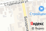 Схема проезда до компании Золотой век в Тамбове